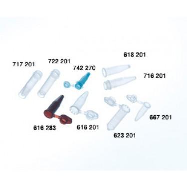 TUBO EPPENDORF GRAD. ROSQUEAVEL COR NATURAL, CAP. 1,5ML, PCT C/ 500UN - Ref. 716201 / GREINER