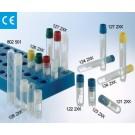 TUBO CRIOGENICO AUTOSUST. CAP 1ML TAMPA AZUL ESTERIL, PCT C/ 100UN - Ref. 123279 / GREINER